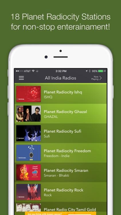 All India Radios-AIR Stations screenshot-3