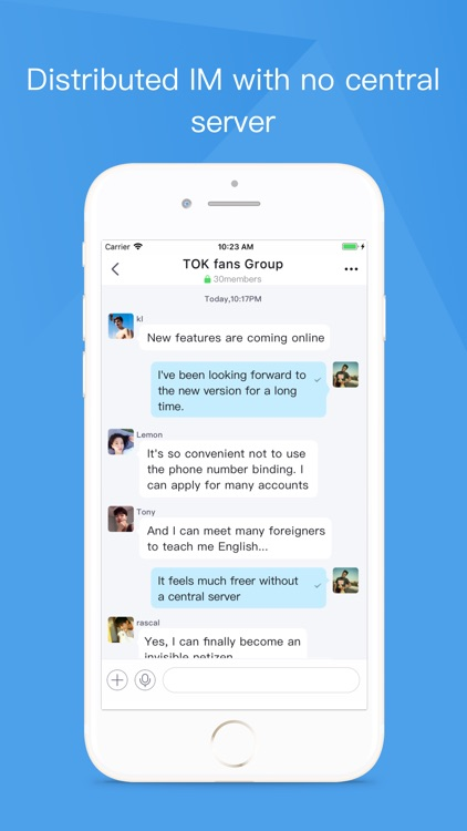 Tok - Encrypted Messaging screenshot-3