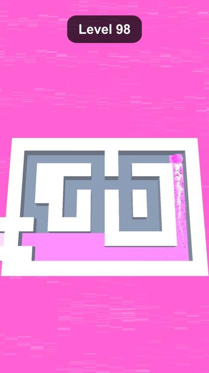 Rolling Paint - Color Maze screenshot-3