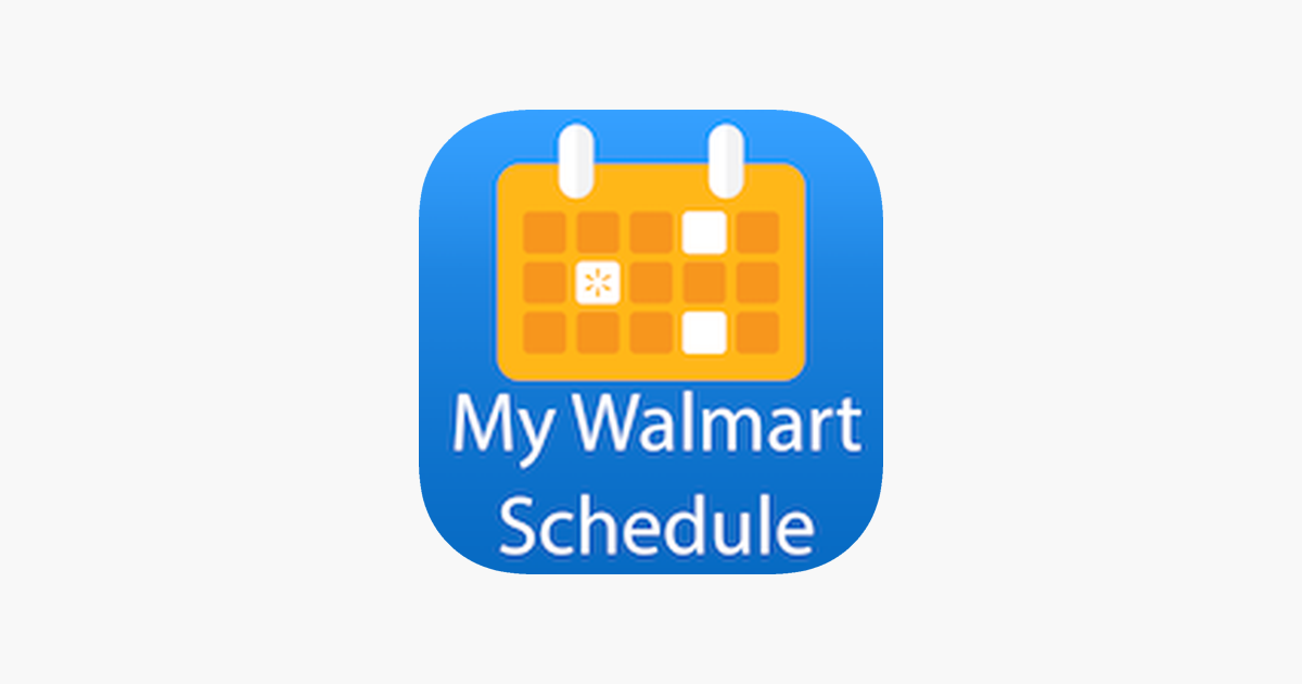 Groovy My Walmart Schedule On The App Store Wiring Digital Resources Lavecompassionincorg
