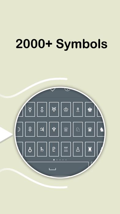 Symbol Keyboard - 2000+ Signs-1