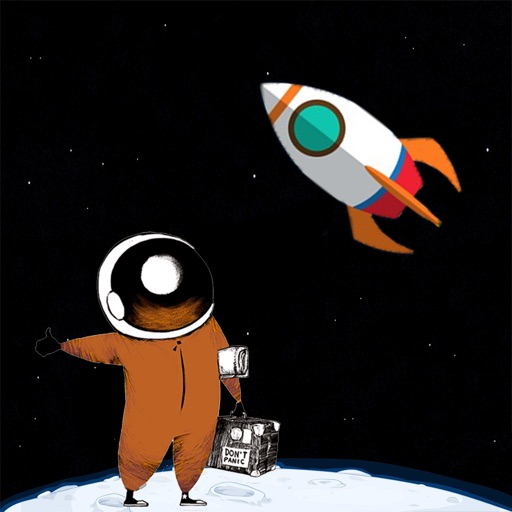 Astronaut - Go to Mars or Moon