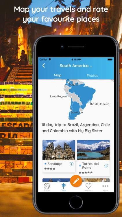 Memento - Map Your Travels screenshot-6