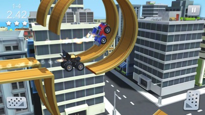 Stunt Racing Car - Sky Driving Screenshot on iOS