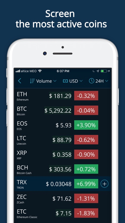 HODL Real-Time Cryptocurrency screenshot-7
