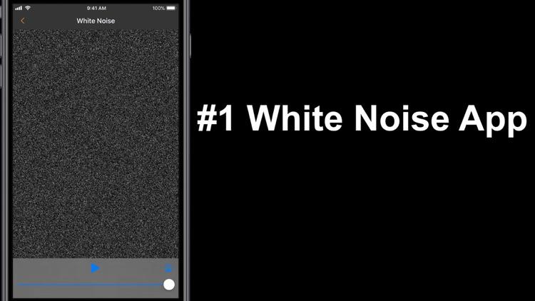 White Noise Deep Sleep Sounds screenshot-9