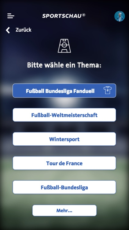 SPORTSCHAU Quiz screenshot-1