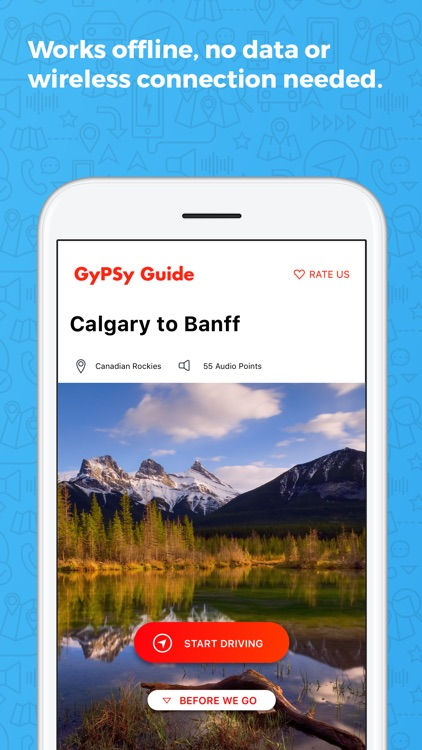 Calgary to Banff GyPSy Guide screenshot-2