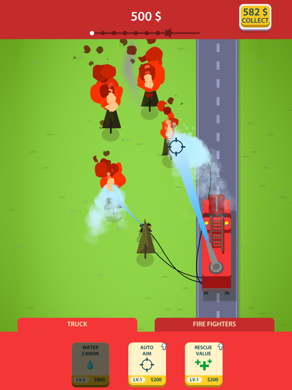 Idle Firetruck screenshot 5