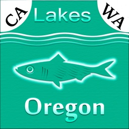 Oregon-CA-WA: Lakes & Fishes