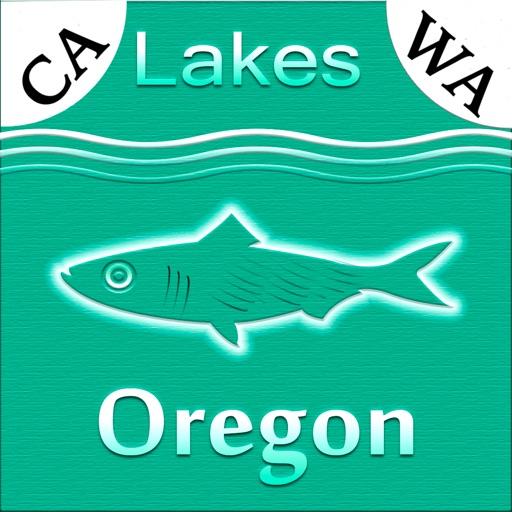 Oregon-CA-WA: Lakes & Fishes