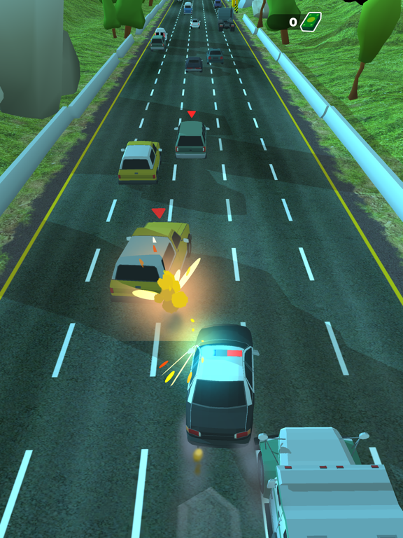 Police Chase - Hot Highways screenshot 12