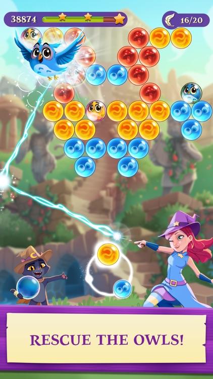Bubble Witch 3 Saga screenshot-0
