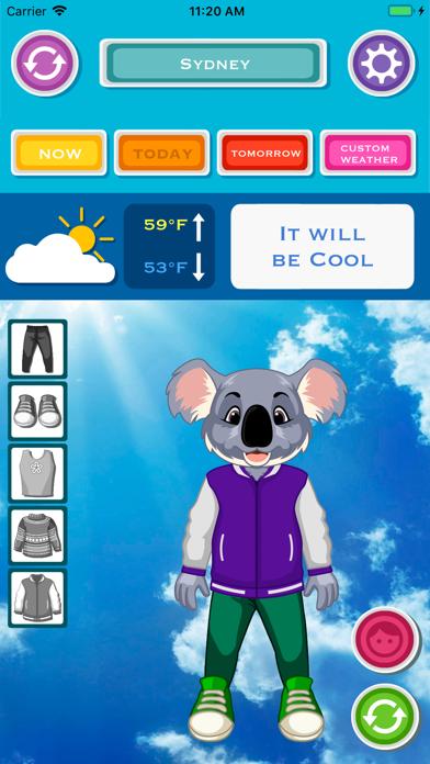 天気と今日の服装のおすすめ画像2