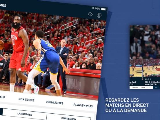Screenshot #5 pour NBA App Officielle
