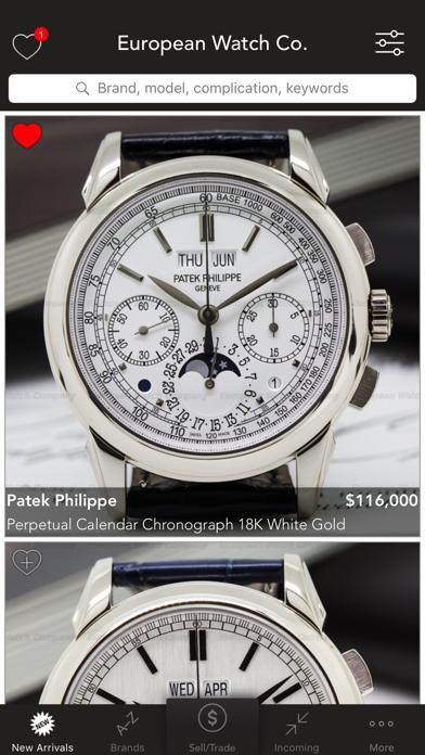 European Watch Co: buy watches screenshot one