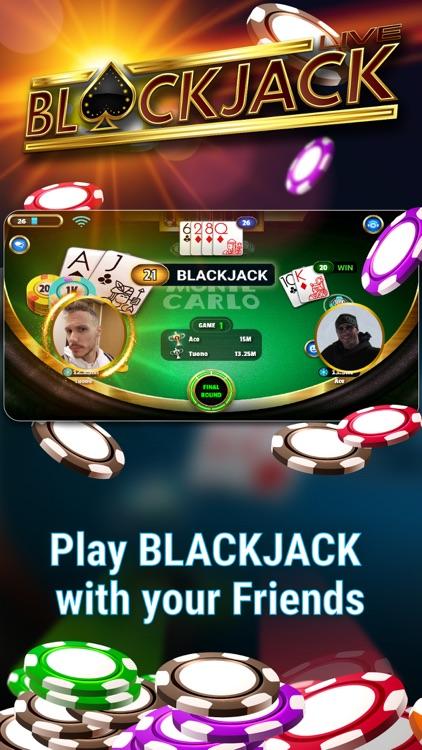 Blackjack 21: Live Casino game screenshot-0