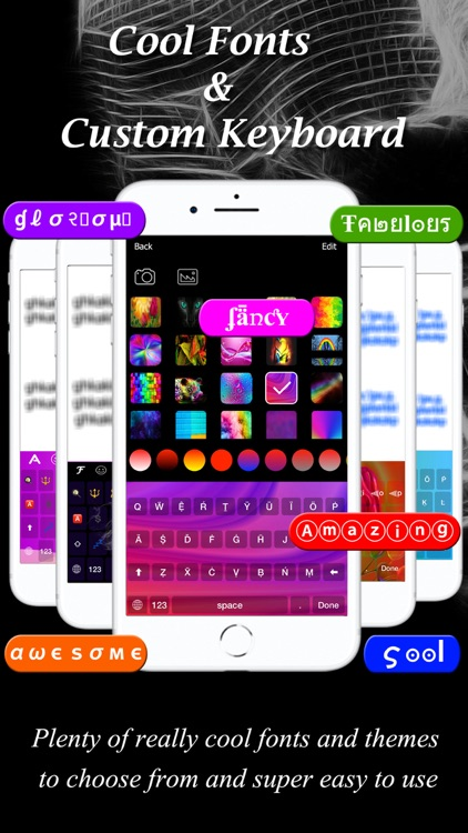 Keyboard. Fonts – Fancy Text screenshot-3
