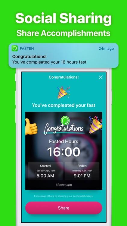 Fasten - Fasting Tracker App screenshot-6