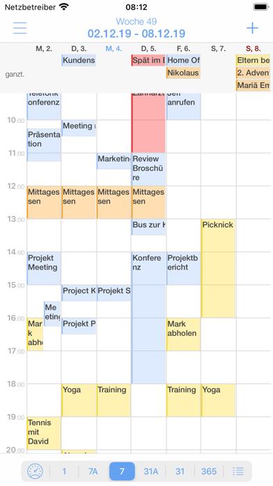 miCal - der KalenderScreenshot von 7