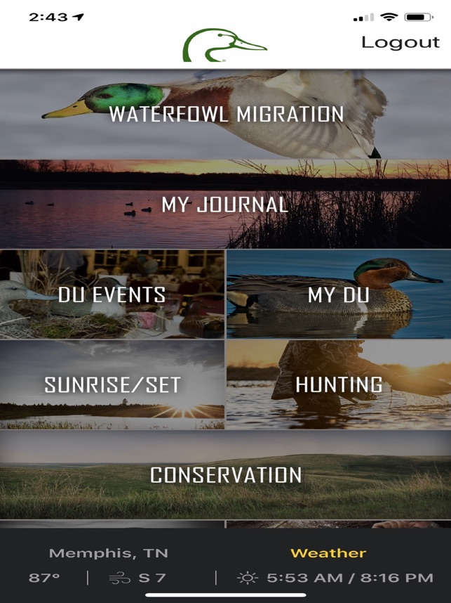 Ducks Unlimited im App Store