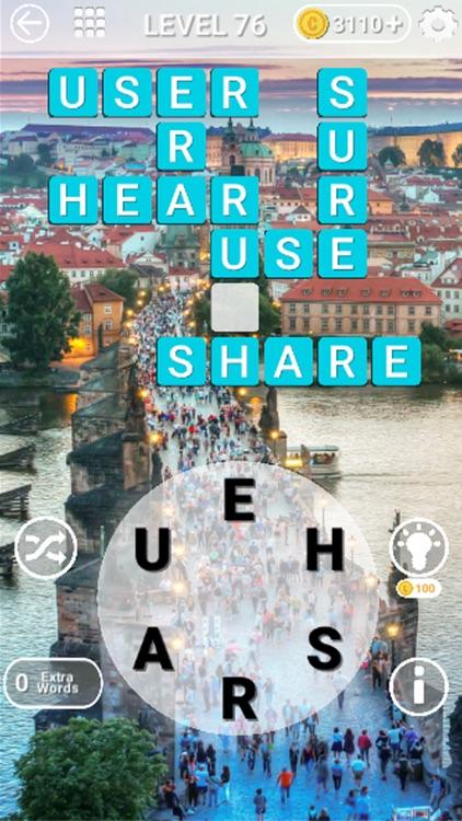 Word Travel :Crossword Puzzle screenshot-3