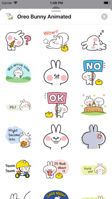 Oreo Bunny Animated screenshot 1