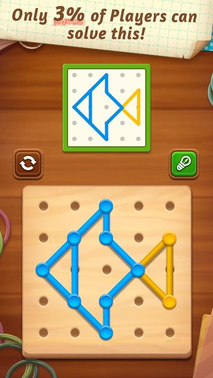Line Puzzle: Color String Art screenshot-4