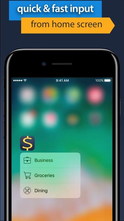 Money manager expense budget screenshot-5