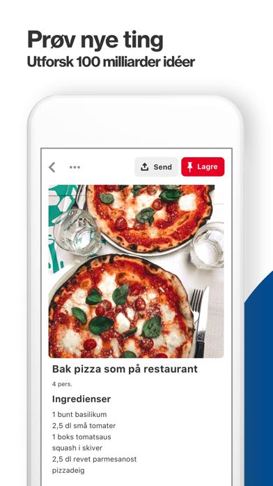Screenshot for Pinterest in Norway App Store