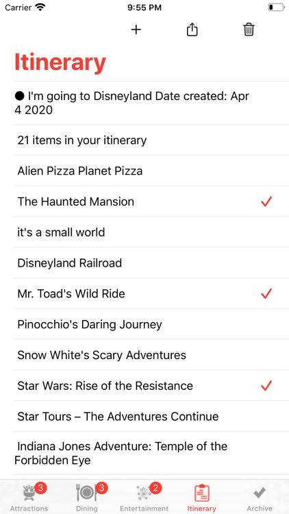 Theme Park Checklist: Anaheim screenshot-3