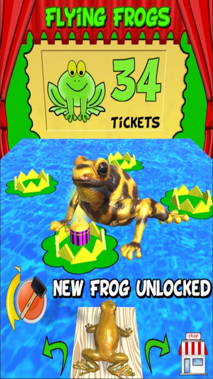 Flying Frogs Pro screenshot-4
