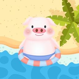 Pink Little Flying MMPig