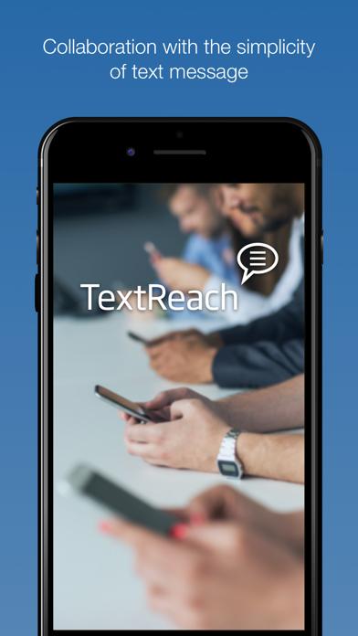 TextReach screenshot one