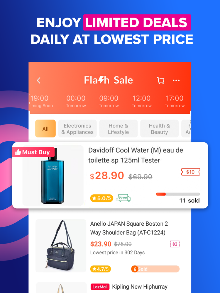 Lazada Best Shopping Online App For Iphone Free Download