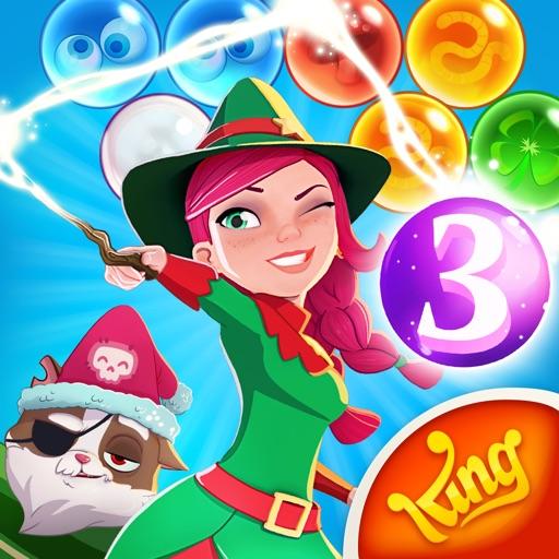 Bubble Witch 3 Saga iOS App