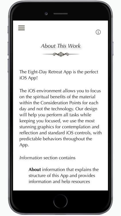 Eight-Day Retreat