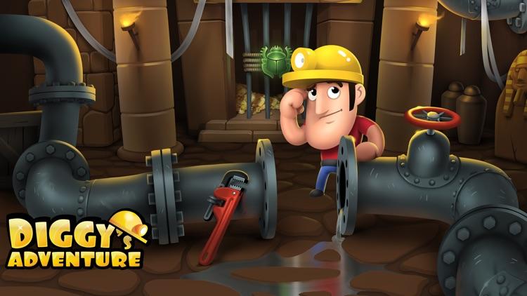 Diggy's Adventure: Fun Puzzles