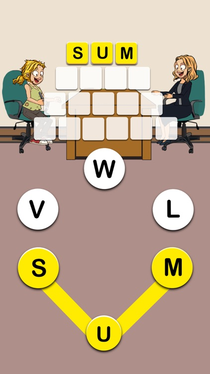 Mary's Promotion - Word Game