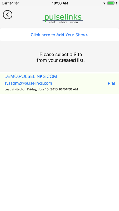 Pulselinks screenshot two