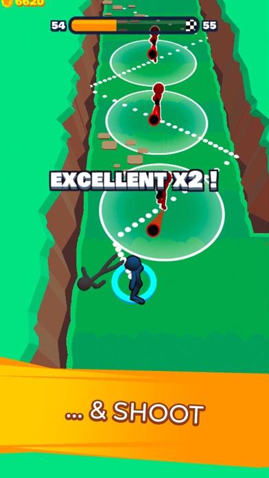 Stickman Dash! screenshot 3