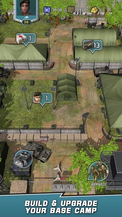 VDV Match 3 RPG: Zombies! screenshot-3