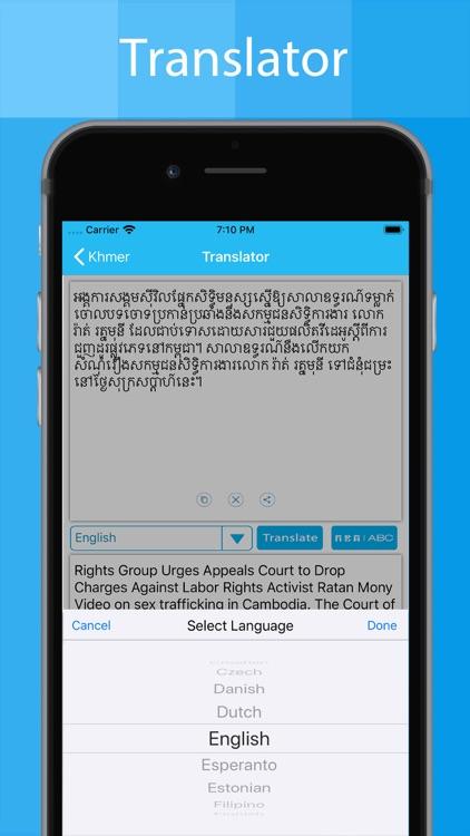 Khmer Keyboard And Translator