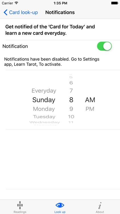 Learn Tarot screenshot-3