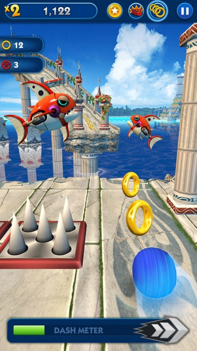 Sonic Dash Screenshots