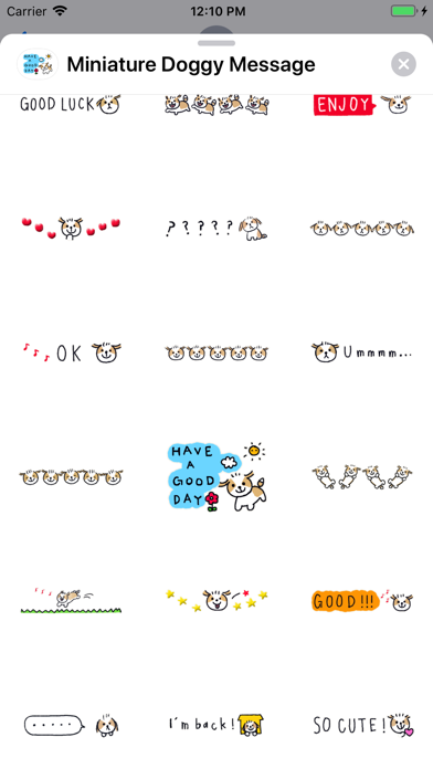 Miniature Doggy Message screenshot 3