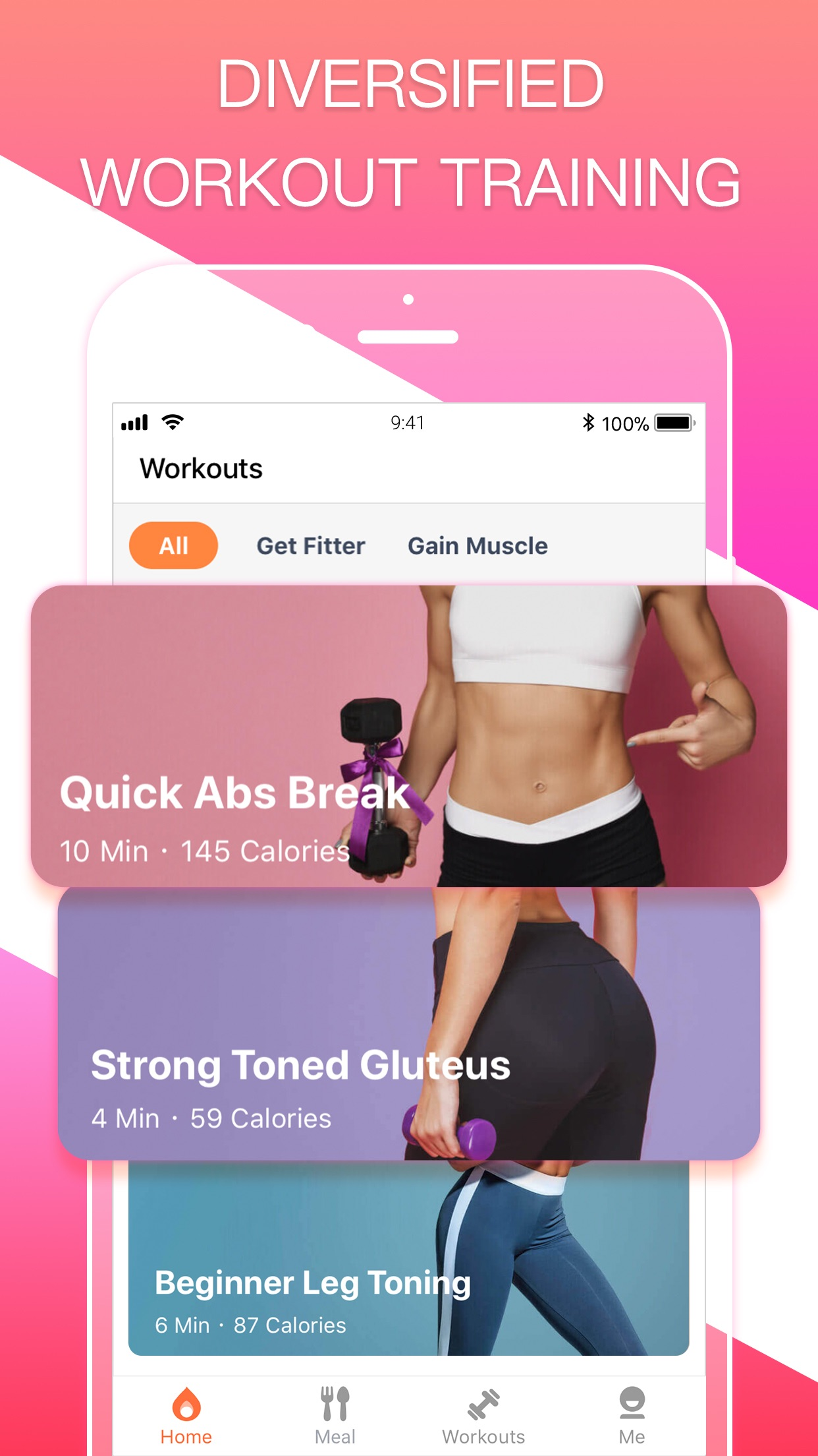 HiFit - Workout Fit Plan Screenshot