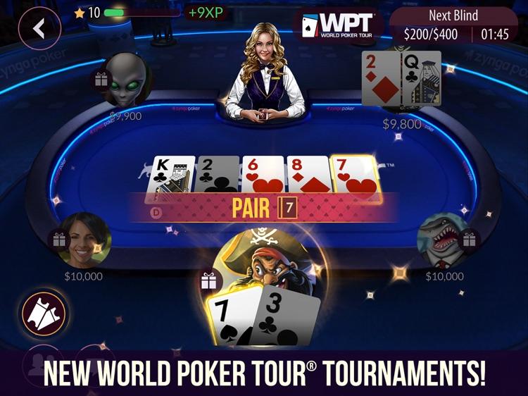 Zynga Poker HD screenshot-0