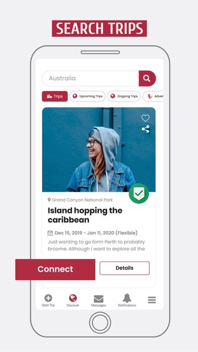 GAFFL - Find A Travel Buddy Screenshot