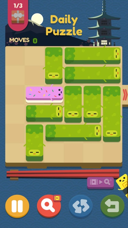 Push Sushi - slide puzzle screenshot-3